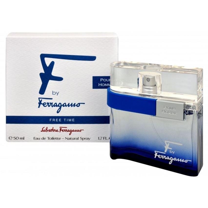 цена на Туалетная вода Salvatore Ferragamo F by Ferragamo Free Time Pour Homme 50 мл
