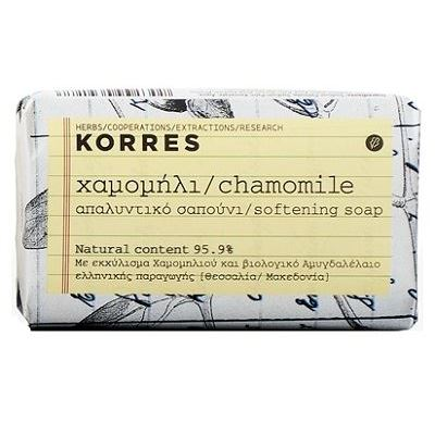 Мыло Korres Chamomile Sofeting Soap (125 гр) недорого