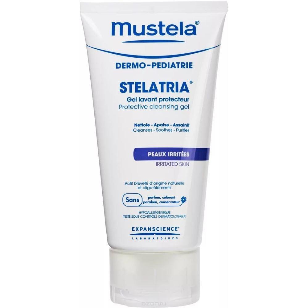 Гель Mustela Stelatria Гель очищающий защитный гель mustela гель для легкости ног