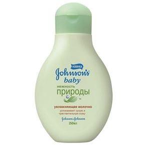 Johnson & Johnson Нежность Природы Молочко