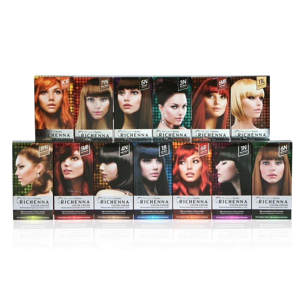 Краска для волос Richenna Color Cream (8YN)