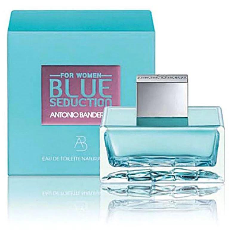 Туалетная вода Antonio Banderas Blue Seduction for Women 50 мл antonio banderas набор blue seduction for women туалетная вода спрей 50 мл лосьон для тела 50 мл