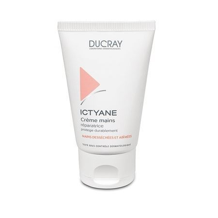 Крем Ducray Иктиан Крем для рук 50 мл the yeon canola honey silky hand cream крем для рук с экстрактом меда канола 50 мл
