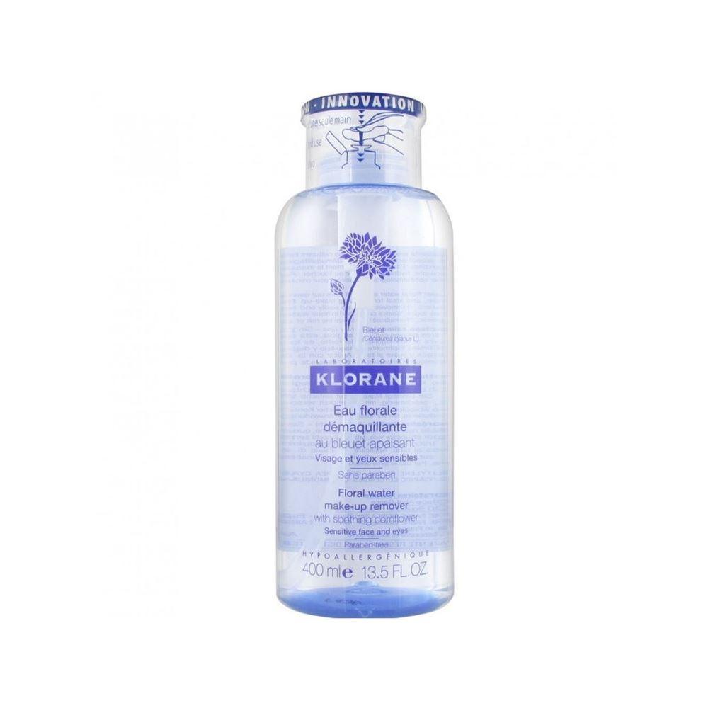 Вода Klorane Очищающая вода 400 мл klorane мицеллярная вода klorane bebe 500 мл очищающая