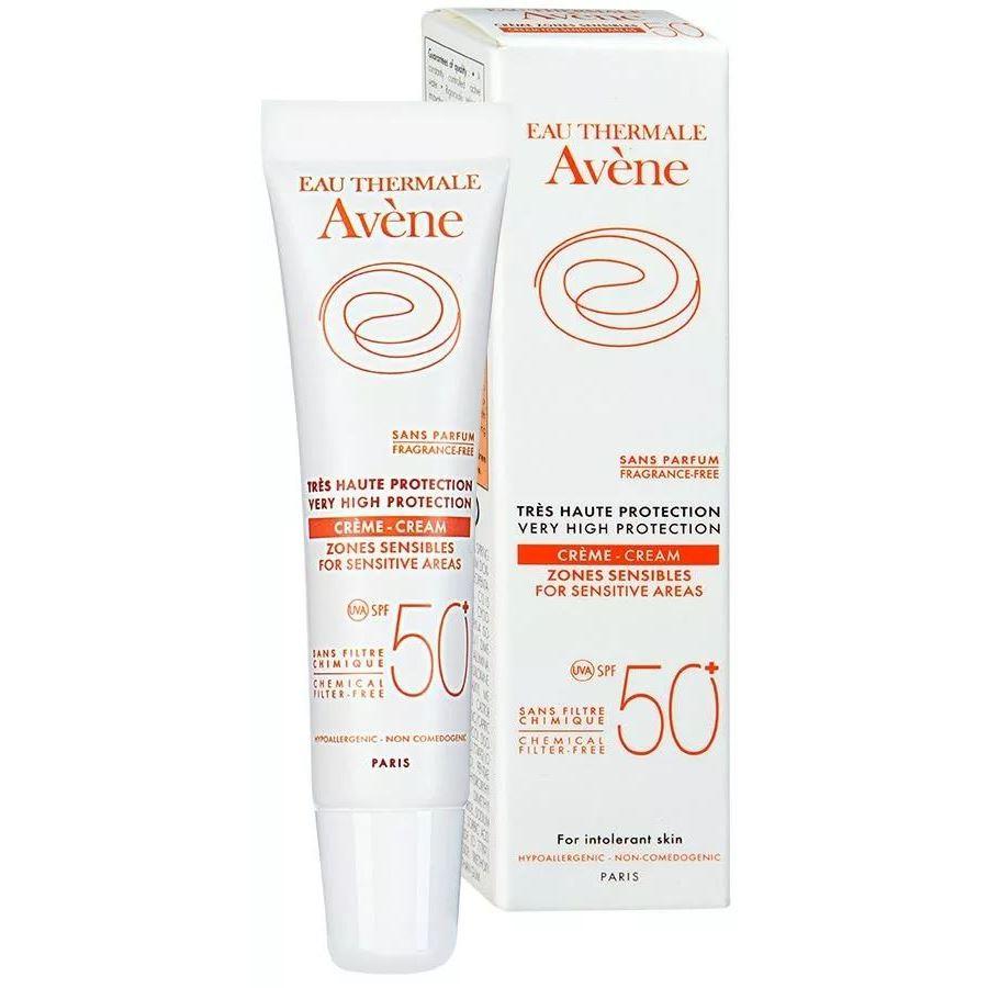Крем Avene Крем SPF 50 для чувствительных зон 15 мл beautymed солнцезащитный крем spf 30 beautymed 50 мл