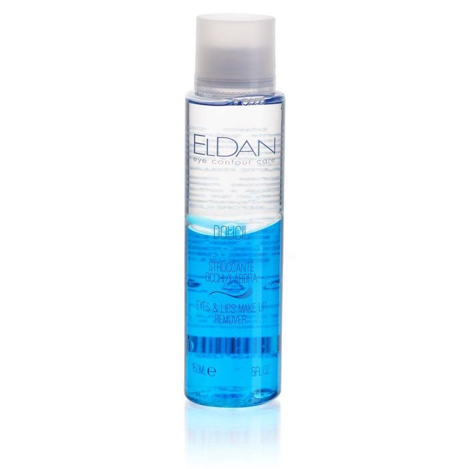 Жидкость Eldan Doucil Eye Make-up Remover 150 мл eldan интенсивная жидкость гидро с eldan hydro c eld 17 1 7 мл