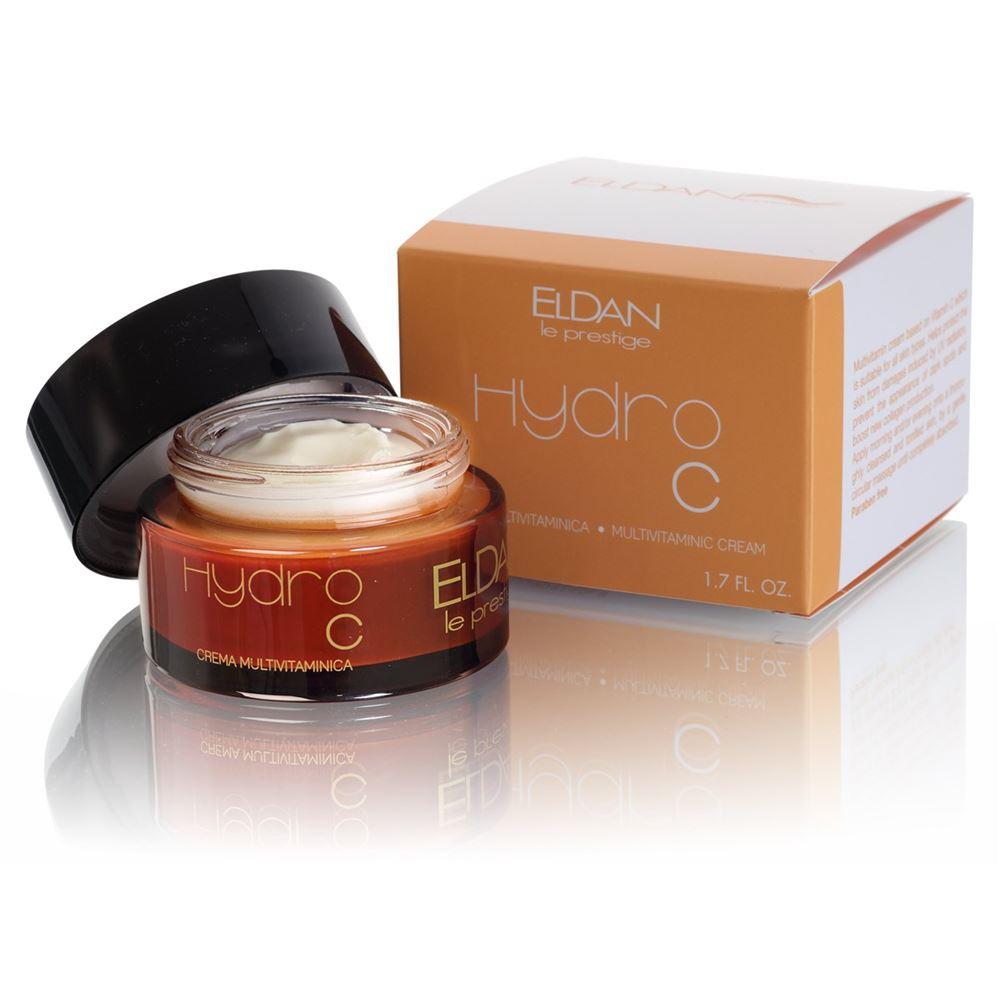 Крем Eldan Hydro C Multivitamin Cream 50 мл eldan интенсивная жидкость гидро с eldan hydro c eld 17 1 7 мл