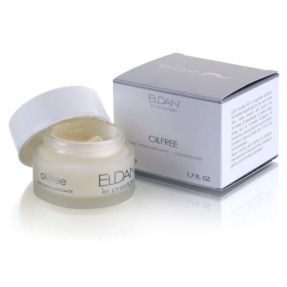 Крем Eldan Pureness Base Oil Free 50 мл eldan интенсивная жидкость гидро с eldan hydro c eld 17 1 7 мл