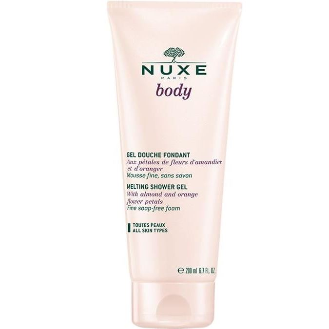Гель для душа Nuxe Нежный гель для душа 200 мл nuxe nuxe body fondant shower gel гель для душа 200 мл