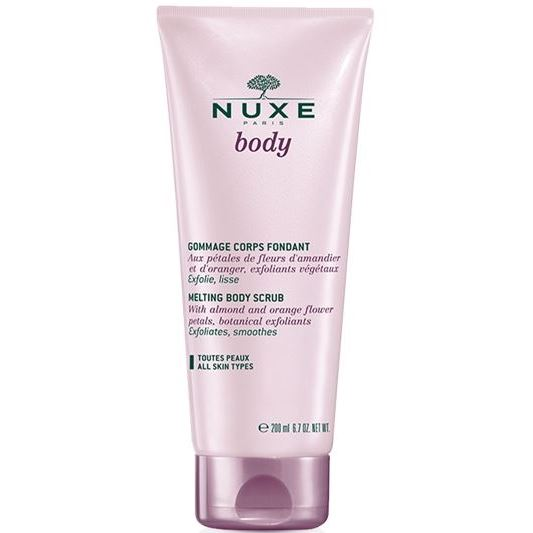 Скраб Nuxe Нежный гоммаж 200 мл nuxe nuxe body fondant shower gel гель для душа 200 мл
