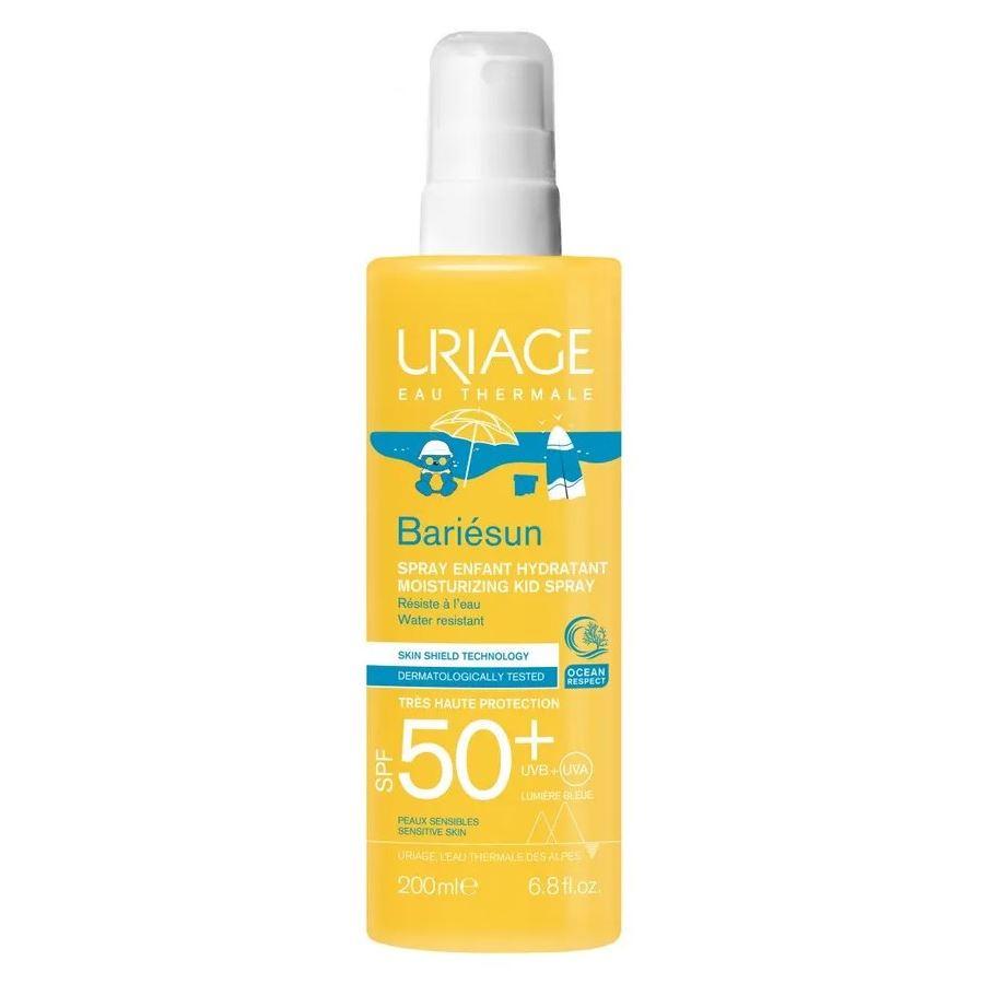 Спрей Uriage Bariesun Spray For Children SPF 50+ 200 мл vichy мама и малыш vichy кс 17 ideal soleil увлажняющий спрей вуаль spf 50 200 мл и спрей для детей spf 50 200 мл