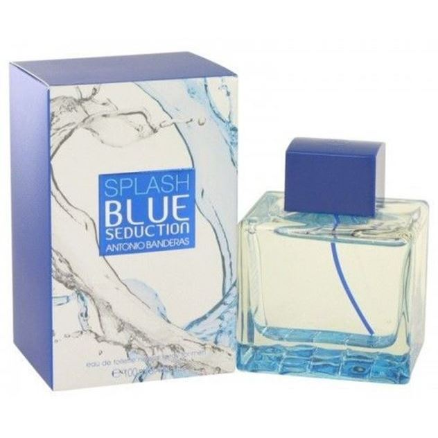 Туалетная вода Antonio Banderas Splash Blue Seduction for Men 100 мл katadyn mybottle blue splash