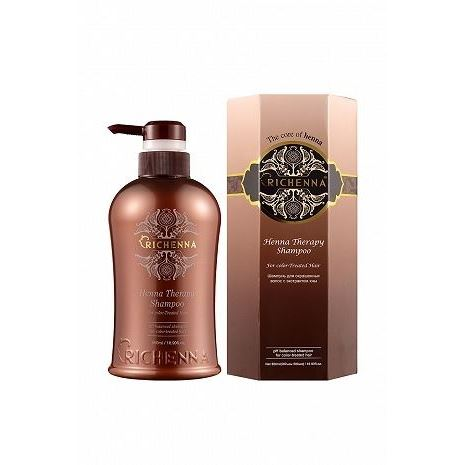 Шампунь Richenna Henna Therapy Shampoo color therapy шампунь для окрашенных волос color therapy шампунь для окрашенных волос 355 мл