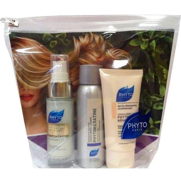 Набор: Бальзам Phyto Программа Восстановление phyto фито фитокератин крем экстрем для волос флакон с дозатором 100 мл