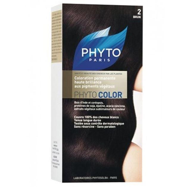 Краска для волос Phyto 2 Брюнет (Phyto Color - 2) phyto кондиционер экспресс фитобом стойкий цвет phyto care p528 150 мл