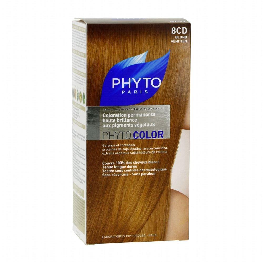 Краска для волос Phyto 8CD Рыжеватый Блонд (Phyto Color - 8CD) phyto фито фитоколор краска для волос набор 9 очень светлый блонд