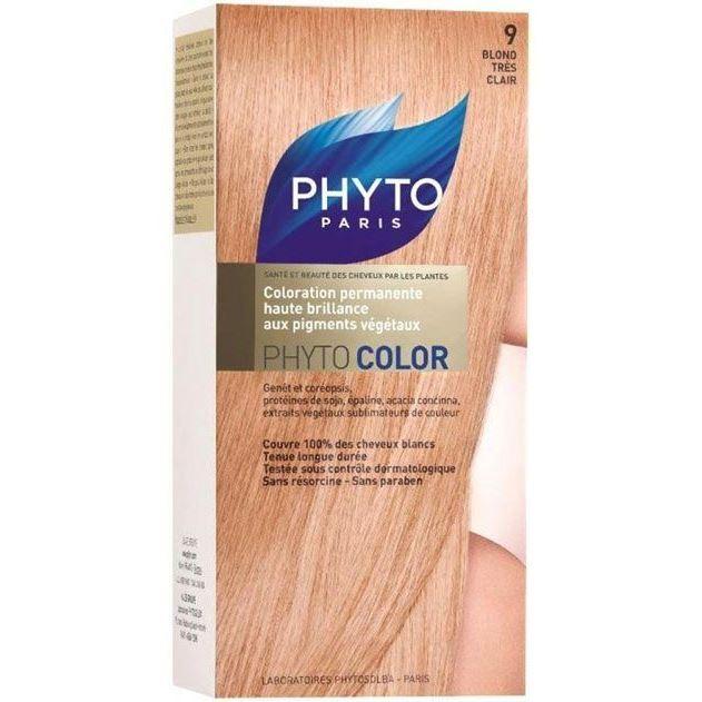 Краска для волос Phyto 9 Очень Светлый Блонд (Phyto Color - 9) уход guam upker kolor 9 0 цвет очень светлый блонд интенсивный 9 0 variant hex name c29f60
