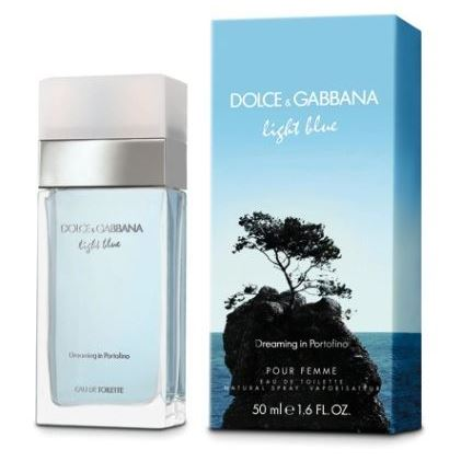 Туалетная вода Dolce & Gabbana Light Blue Dreaming In Portofino 50 мл dolce and gabbana женская туалетная вода dolce and gabbana light blue 81051771 50 мл
