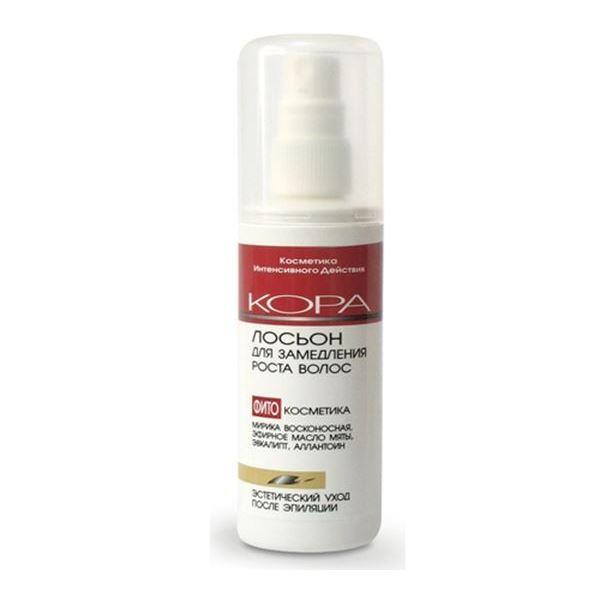 Лосьон KORA Лосьон для замедления роста волос 100 мл рефарм стимулятор роста волос лосьон 150г