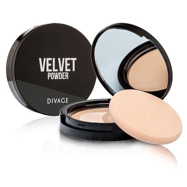 Пудра Divage Velvet Powder (5206) пудра компактная compact powder true color 03 divage
