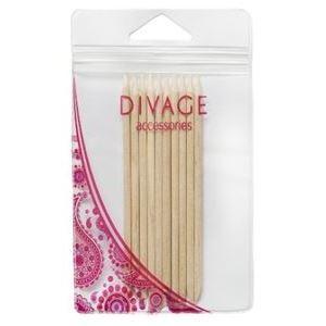 Разное Divage Палочки для маникюра (10 шт) палочки для маникюра kiss палочки для маникюра деревянные 10 шт
