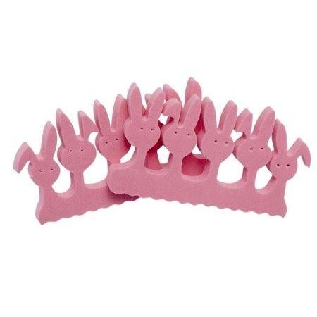 Разное Divage Разделители для педикюра Зайчики (2 шт) solomeya разделители для пальцев розовые пара toe separator