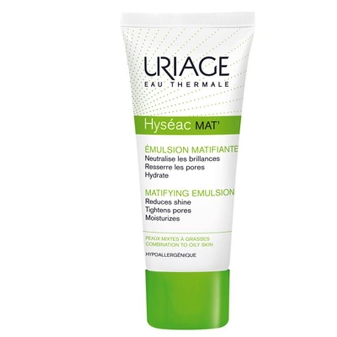 Эмульсия Uriage Hyseac Mat Matifyng Emulsion For Combination To Oily Skin 40 мл uriage