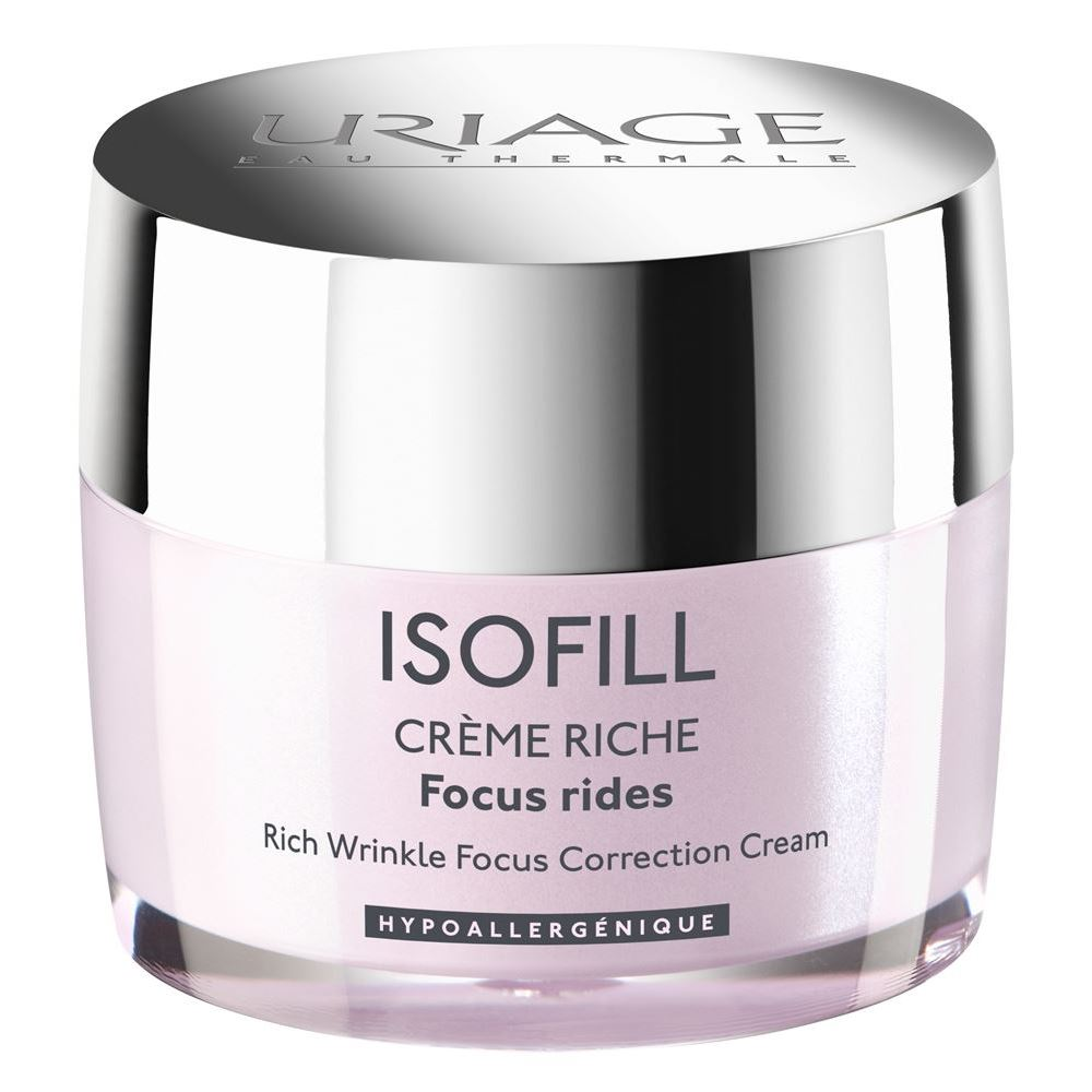 Крем Uriage Isofill Riche Wrinkle Focus Correction Cream 50 мл крем uriage isoliss cream