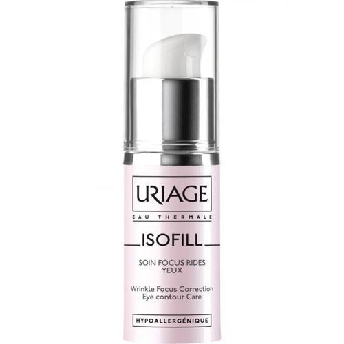 Крем Uriage Isofill Wrinkle Focus Correction Eye Contour Care 15 мл uriage бальзам для губ изолирующий и восстанавливающий барьедерм 15 мл