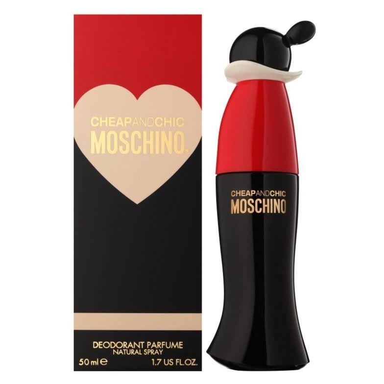 все цены на Туалетная вода Moschino Cheap & Chic Moschino в интернете