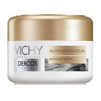 Маска VICHY Маска питательно-восстанавливающая для сухих волос 200 мл sea of spa маска питательная восстанавливающая для сухих окраш волос с маслом арганы и ши 500 мл