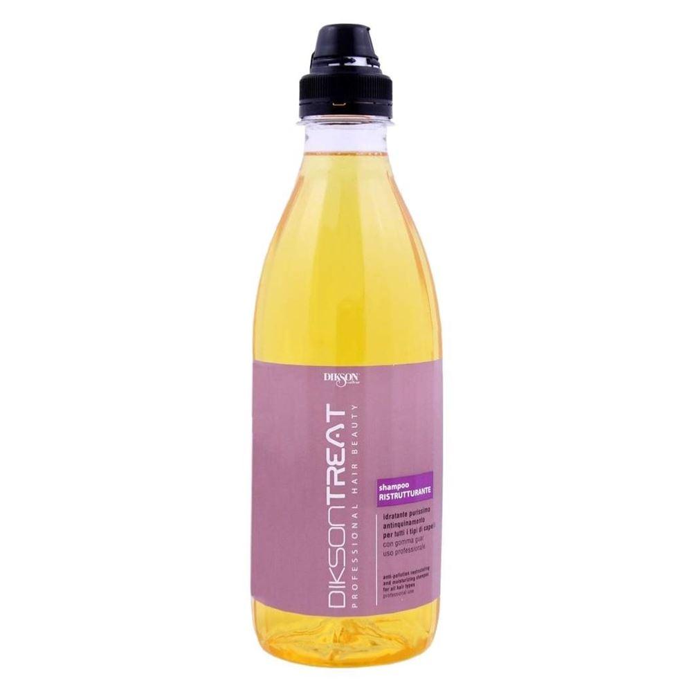 Шампунь Dikson Treat Shampoo Ristrutturante 980 мл dikson moisturizing shampoo увлажняющий шампунь для частого мытья 1000 мл