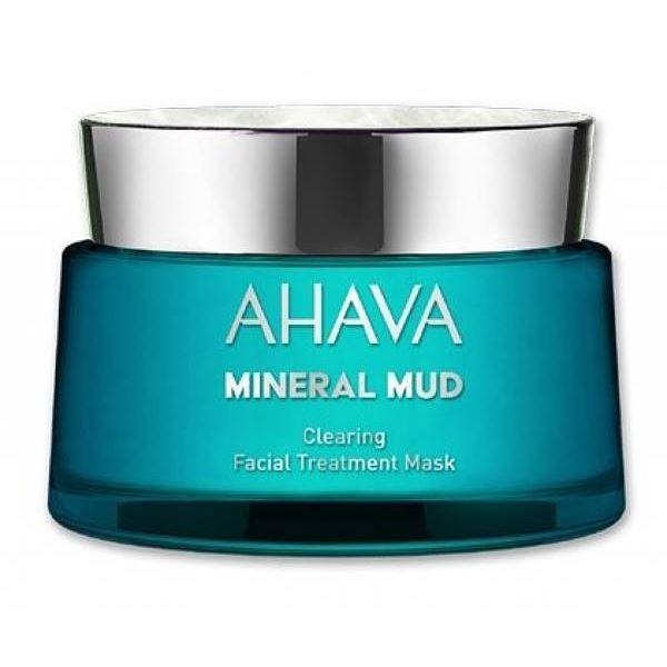 Маска Ahava Mineral Mud Mask Очищающая детокс-маска для лица 50 мл ahava mud крем питательный для тела dermud