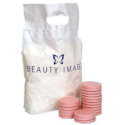 Воск Beauty Image Воск в дисках Экстра Розовый (1000 гр) воск beauty image парафин персик 500 гр