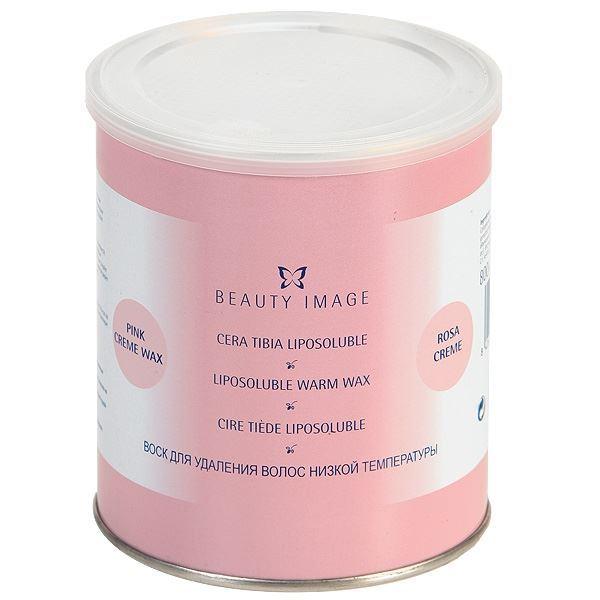 Воск Beauty Image Воск в банке Розовый (800 гр) воск beauty image горячий воск в дисках стальной 1000 гр