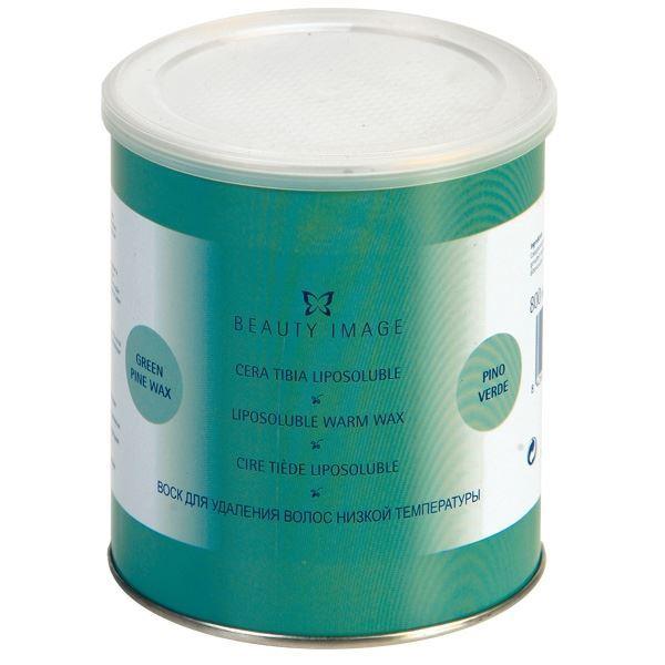Воск Beauty Image Воск в банке Зеленый (800 гр) beauty image кассета с воском для тела с экстрактом водорослей для сухой кожи