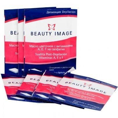Салфетки Beauty Image Салфетки с маслом (1 шт) нагреватель beauty image нагреватель аппликатор для кассет 1 шт