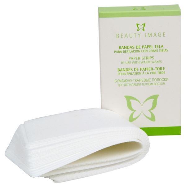 Сопутствующие товары Beauty Image Бумага в коробке (25 листов) beauty image баночка с воском с маслом оливы 800гр