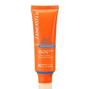 Крем Lancaster Silky Touch Cream Radiant Tan SPF15 50 мл набор защита от загара с spf 50