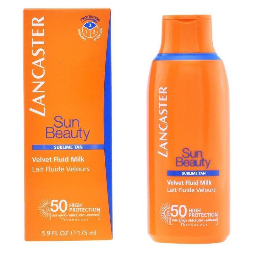Молочко Lancaster Velvet Fluid Milk SPF50  175 мл lancaster sun care масло шелковистое для тела для усиления загара spf30 sun care масло шелковистое для тела для усиления загара spf30