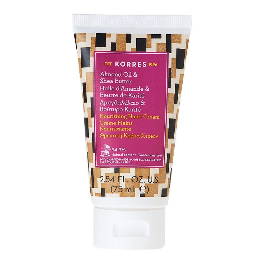 Крем Korres Hand Cream Almond Oil & Shea Butter 75 мл крем etude house hand bouquet rich butter hand cream 50 мл