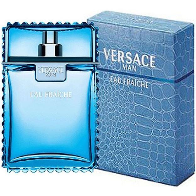 Туалетная вода Versace Versace Man Eau Fraiche 50 мл туалетная вода versace man eau fraiche объем 30 мл вес 80 00