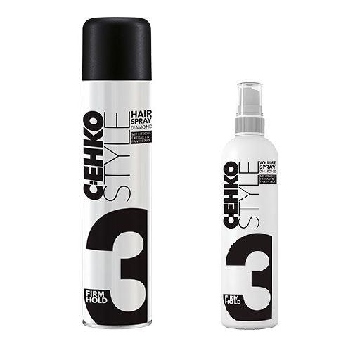 Лак C:EHKO 3 Diamond Hairspray  400 мл шампунь c ehko every day shampoo 10000 мл