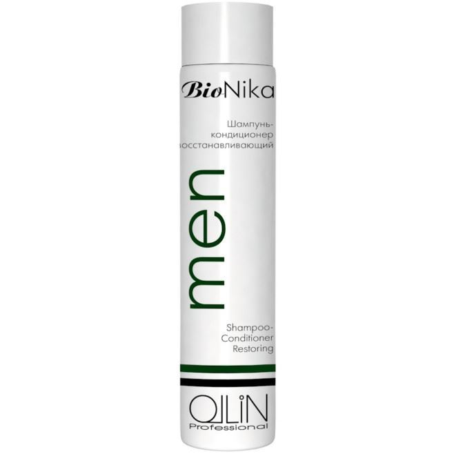 Шампунь Ollin Professional Men Shampoo-Conditioner Restoring ollin professional кондиционер бивалентный bivalent conditioner bionika 200мл