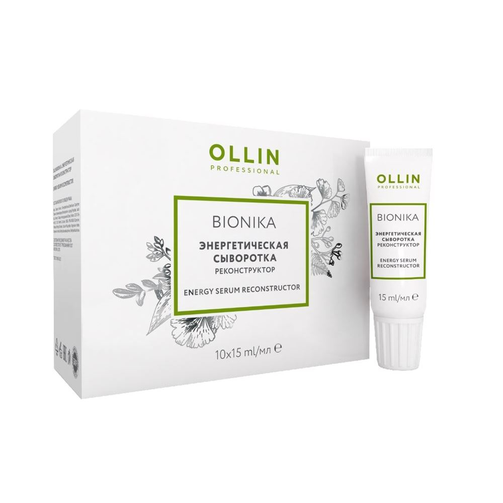 Сыворотка Ollin Professional Reconstructor Energy Serum ollin сыворотка биобаланс ollin bionika 726000 10 15 мл