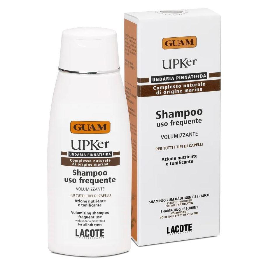 Шампунь Guam Шампунь для частого использования Shampoo Uso Frequente 200 мл l angelica 3127 шампунь 2в1 для частого использования 250 мл