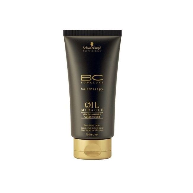 Кондиционер Schwarzkopf Professional Oil Miracle. Gold Shimmer Conditioner 150 мл гель schwarzkopf professional 3 strong control g force texture 150 мл