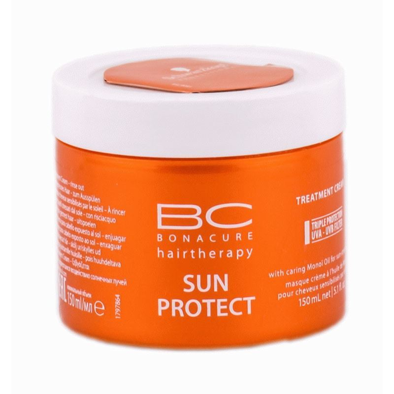 Маска Schwarzkopf Professional Sun Protect. Treatment 150 мл гель schwarzkopf professional 3 strong control g force texture 150 мл
