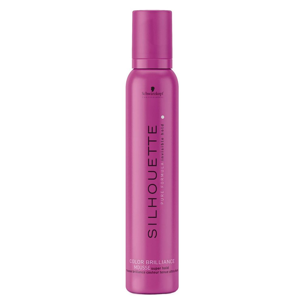 Мусс Schwarzkopf Professional Super Hold Colour Brilliance Mousse лак schwarzkopf professional flexible hold pure hairspray