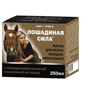 Маска Horse Forse Маска для волос Тающая питательная 250 мл